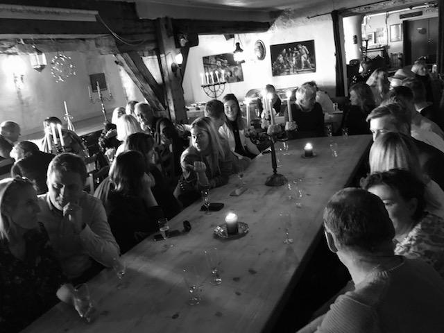 Rundt bordet da SAMkollektivet inviterte til prat
