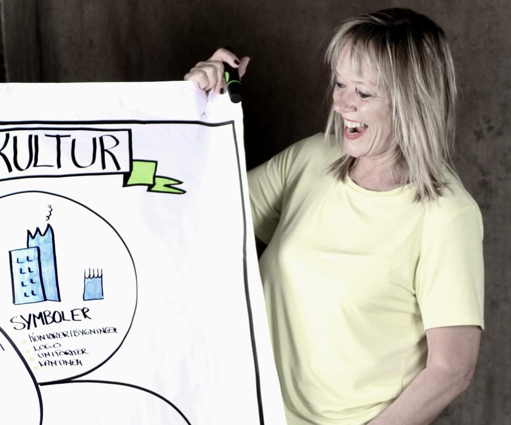 Trude viser hvordan hun skaper effektive ledergrupper
